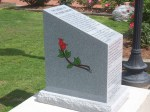 plaque for rose buddies